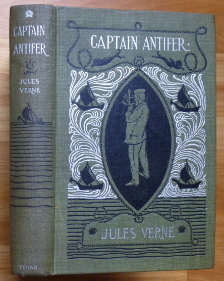 CAPTAIN ANTIFER. Jules Verne.