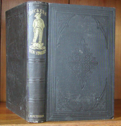 """DICKENS' NEW STORIES [first U.S. edition of """"The Seven Poor Travellers""""]. Charles Dickens."""