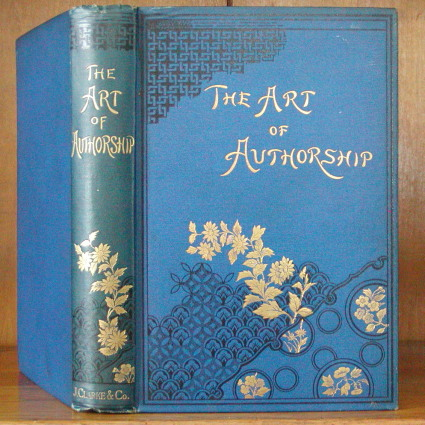THE ART OF AUTHORSHIP. G. A. Henty.