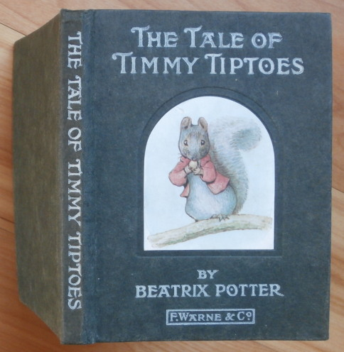 THE TALE OF TIMMY TIPTOES. Beatrix Potter.