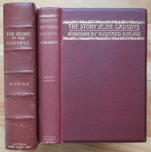 THE STORY OF THE GADSBYS and UNDER THE DEODARS. Rudyard Kipling.