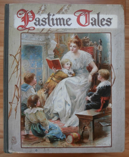 """Little Mistress Valentia"" -- in Nister's PASTIME TALES. G. A. Henty."