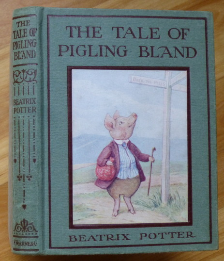 THE TALE OF PIGLING BLAND. Beatrix Potter.