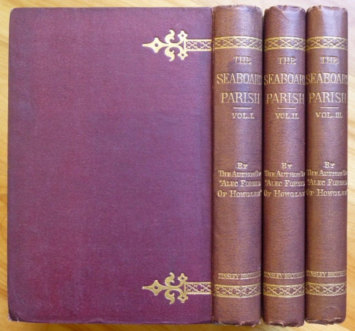 THE SEABOARD PARISH [signed by MacDonald]. George MacDonald.