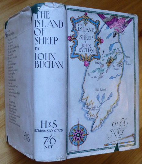 THE ISLAND OF SHEEP. John Buchan.
