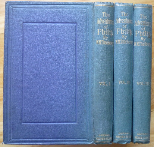 THE ADVENTURES OF PHILIP. W. M. Thackeray.