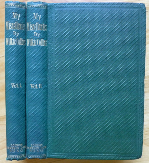 MY MISCELLANIES. Wilkie Collins.