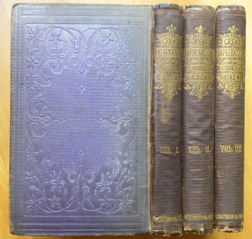GREAT EXPECTATIONS. In Three Volumes. Charles Dickens.