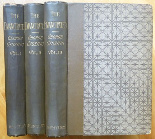 THE EMANCIPATED. A Novel. In Three Volumes. George Gissing.