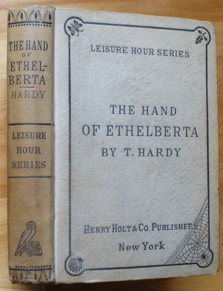 THE HAND OF ETHELBERTA. Thomas Hardy.