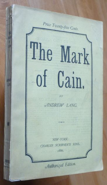 THE MARK OF CAIN. Andrew Lang.