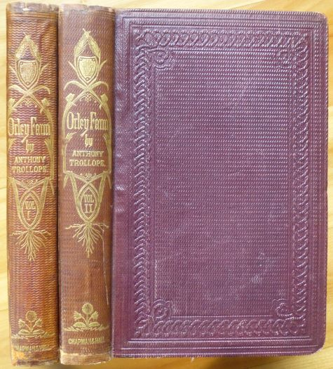 ORLEY FARM. In Two Volumes. Anthony Trollope.