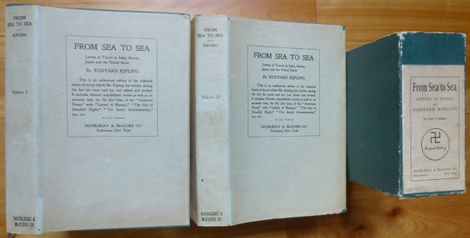 FROM SEA TO SEA. Letters of Travel. [In Two Volumes.]. Rudyard Kipling.