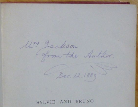 SYLVIE AND BRUNO. With: SYLVIE AND BRUNO CONCLUDED. Lewis Carroll, C. L. Dodgson.