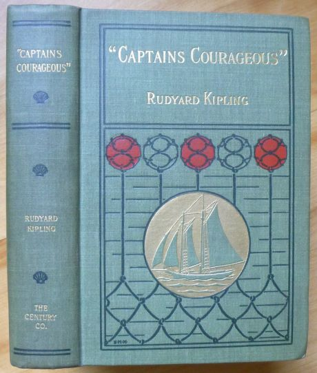 CAPTAINS COURAGEOUS. A Story of the Grand Banks. Rudyard Kipling.