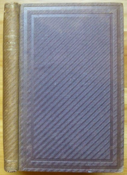THE CLAVERINGS. A Novel. Anthony Trollope.