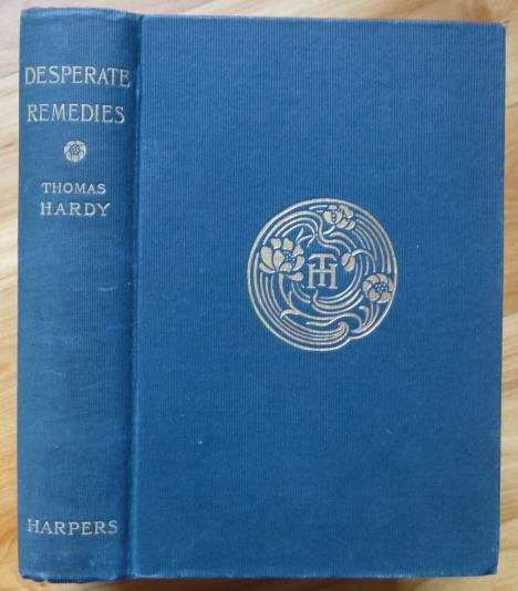 DESPERATE REMEDIES. Thomas Hardy.