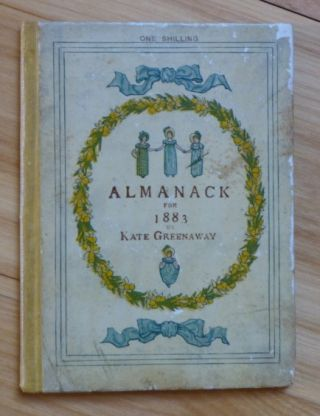 ALMANACK FOR 1883. Kate Greenaway.