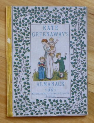 ALMANACK FOR 1891. Kate Greenaway.