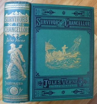 THE SURVIVORS OF THE CHANCELLOR. Jules Verne.