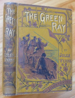 THE GREEN RAY. Jules Verne.