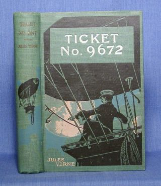 "TICKET NO. ""9672"" Jules Verne"