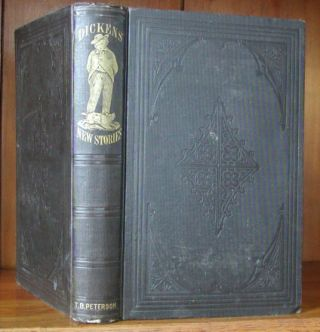 "DICKENS' NEW STORIES [first U.S. edition of ""The Seven Poor Travellers""]. Charles Dickens"