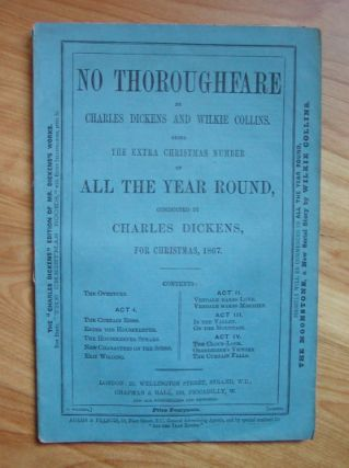 NO THOROUGHFARE. Charles Dickens.