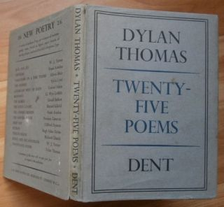 TWENTY-FIVE POEMS. Dylan Thomas.