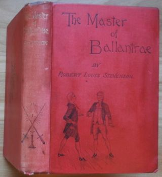 THE MASTER OF BALLANTRAE. Robert Louis Stevenson.