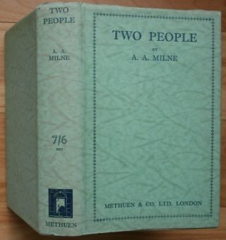TWO PEOPLE. A. A. Milne