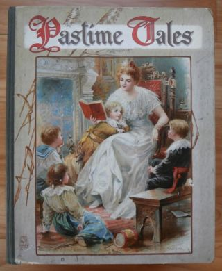 """Little Mistress Valentia"" -- in Nister's PASTIME TALES. G. A. Henty"