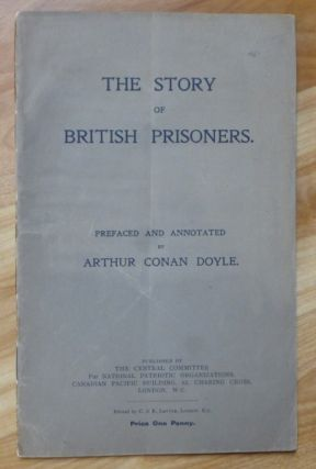 "THE STORY OF BRITISH PRISONERS. ""prefaced and"