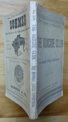 THE SUICIDE CLUB [and THE RAJAH'S DIAMOND].