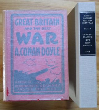 GREAT BRITAIN AND THE NEXT WAR. A. Conan Doyle.