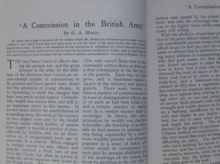 """""""A Commission in the British Army."""" In The Independent."""
