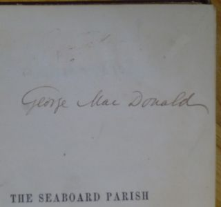THE SEABOARD PARISH [signed by MacDonald].