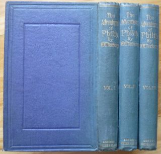 THE ADVENTURES OF PHILIP. W. M. Thackeray