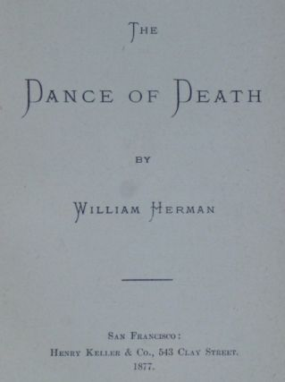 THE DANCE OF DEATH. By William Herman.