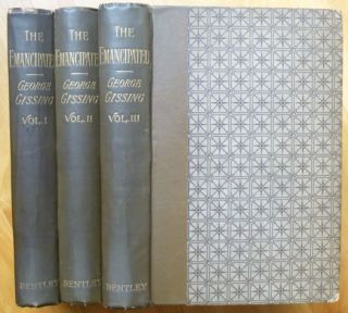 THE EMANCIPATED. A Novel. In Three Volumes. George Gissing