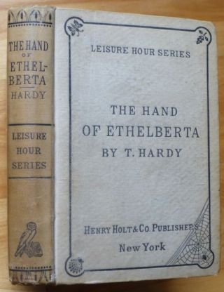 THE HAND OF ETHELBERTA. Thomas Hardy