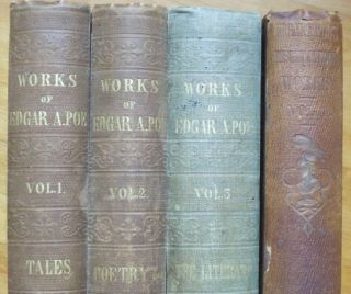THE WORKS [in Four Volumes]. Vol. I - TALES; Vol. II - POEMS & MISCELLANIES; Vol. III - THE...