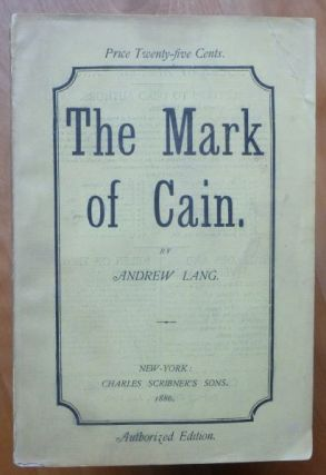 THE MARK OF CAIN.