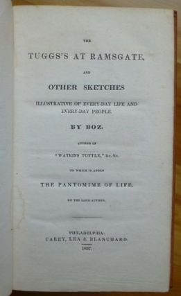 THE TUGGS'S AT RAMSGATE, and Other Sketches. Charles Dickens