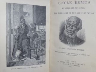 UNCLE REMUS. His Songs and Sayings.
