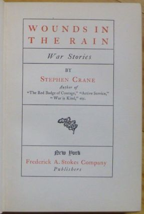 WOUNDS IN THE RAIN. War Stories.