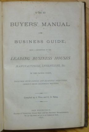 """""""The Public to Mark Twain"""" in THE BUYERS' MANUAL and BUSINESS GUIDE;"""